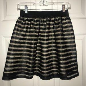 Striped Forever21 Skirt